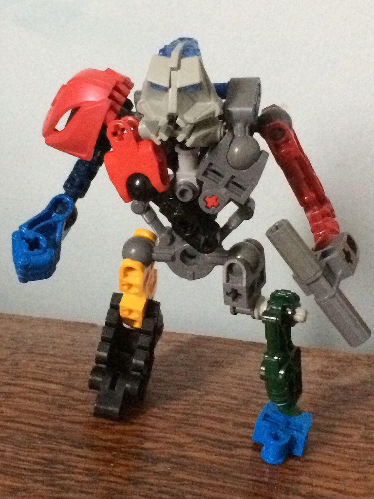 lego real steel metro sta customs flickr