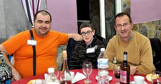 Convención SEK 2016: Carlos, Endika y Víctor en la cena de gala