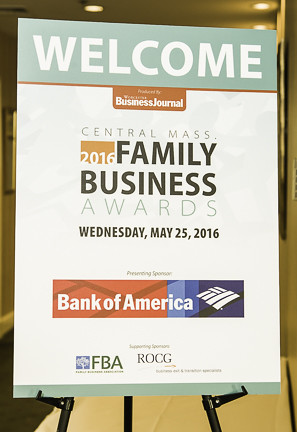 Worcester Business Journal 2016 Central Mass Family Business Awards