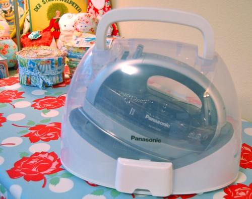 My new toy! One for you, too?!  Panasonic 360° Freestyle cordless iron | by Happy Zombie