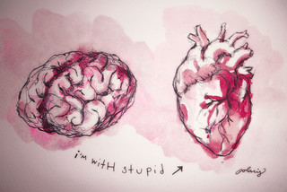I'm With Stupid | by Polaris Castillo