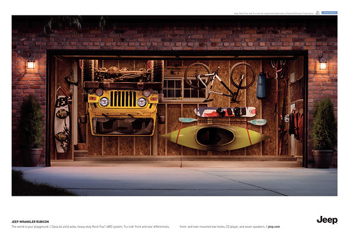 Wrangler rubicon garage ad the world is your playground for Garage ad breuillet