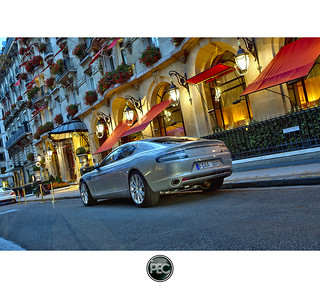 Aston Martin Rapide - Plaza Athenée Paris | by _PEC_