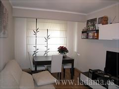 decoracin para salones modernos cortinas paneles japoneses estores enrollables
