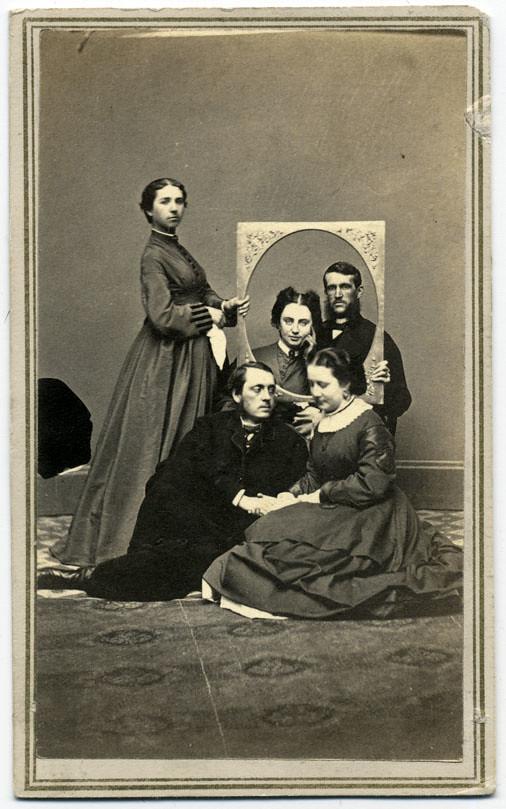 Friendship In Freeze Frame October 1864