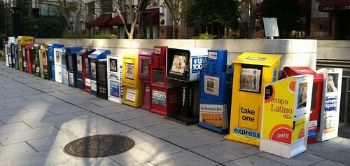Newspaper Boxes - Metro Center_cut | by DC_UPTOWN4IFE