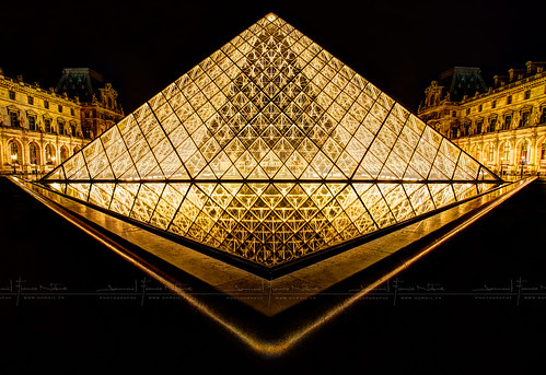 Louvre en OR HDR ~ Paris ~ France ~ Louvre ~by D.F.N. | by '^_^ Damail Nobre ^_^'