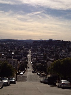 Sanchez St looking South from Dolores Heights | by dajobe