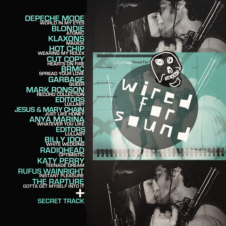 wired for sound | mix cd cover | Rebecca | Flickr