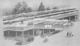 Retro Design for Covered Cycle Tracks in Holland | by Mikael Colville-Andersen