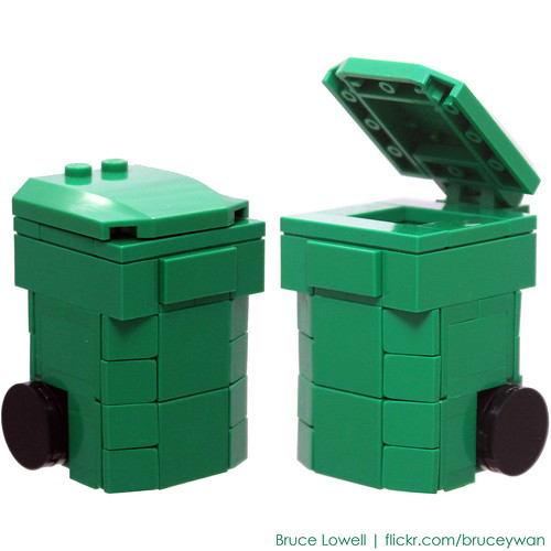 how to get recycling bin montreal