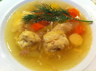 matzoh ball soup | by bluelemniscate