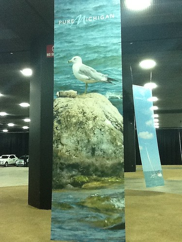 A Pure Michigan Banner at 2012 North American International Auto Show | by Pure Michigan