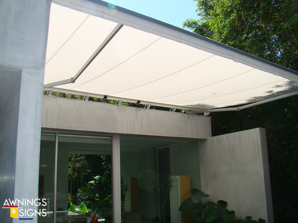 modern retractable awning 02 awnings signs unlimited south