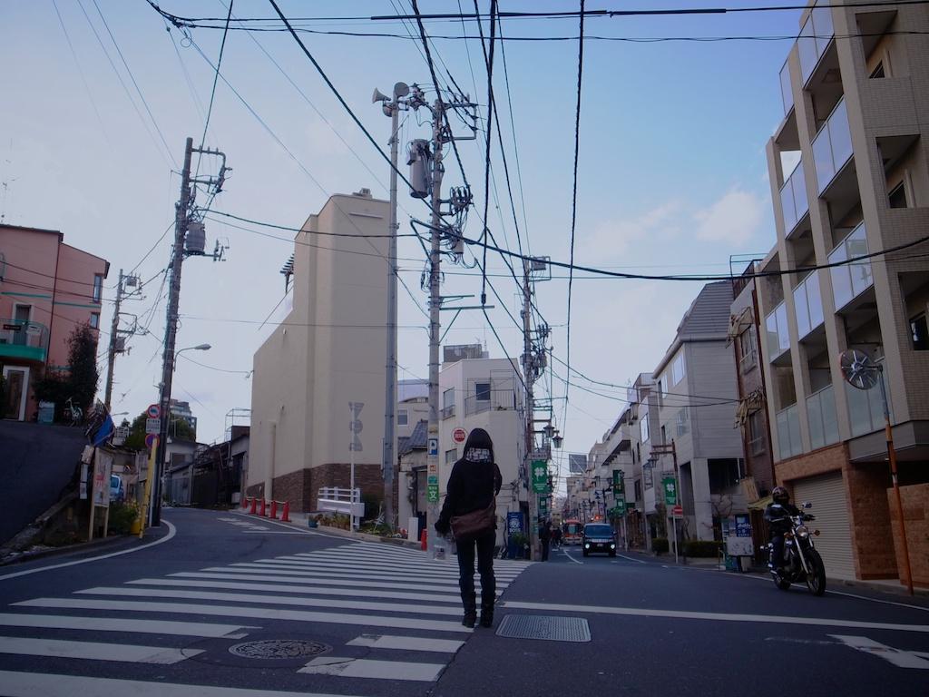 多叉路に立つ | 渋谷から代々木...