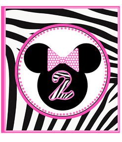 zebra print minnie mouse birthday party yard signs supplie flickr