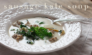 sausage-kale-soup-tx | by sophistimom