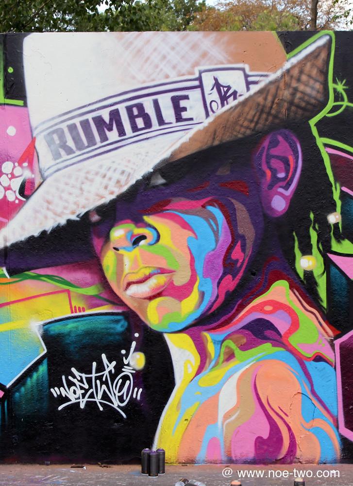 rumble ghetto youth noe two noe two graffiti art flickr