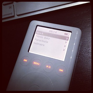 Bit of nostalgia...! The 3rd Gen iPod only had 4 games!! | by yinyang