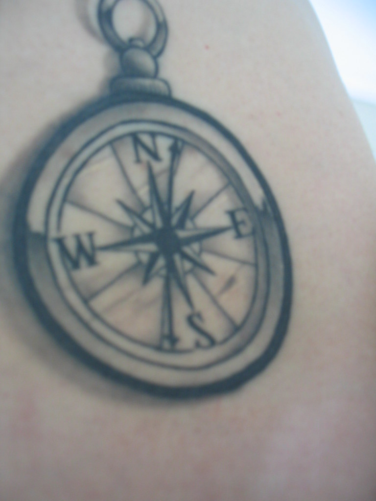 Compass Rose Tattoo | jnetjung | Flickr