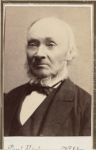Portrett av Ivar Aasen (1813-1896), 1884 | by National Library of Norway