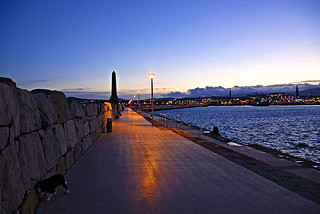 Twiliglight on Dun Laoighaire Pier | by mwcummins1