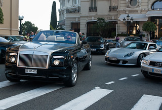 Rolls-Royce Phantom Drophead Coupé & 2x Porsche Carrera GT | by piolew