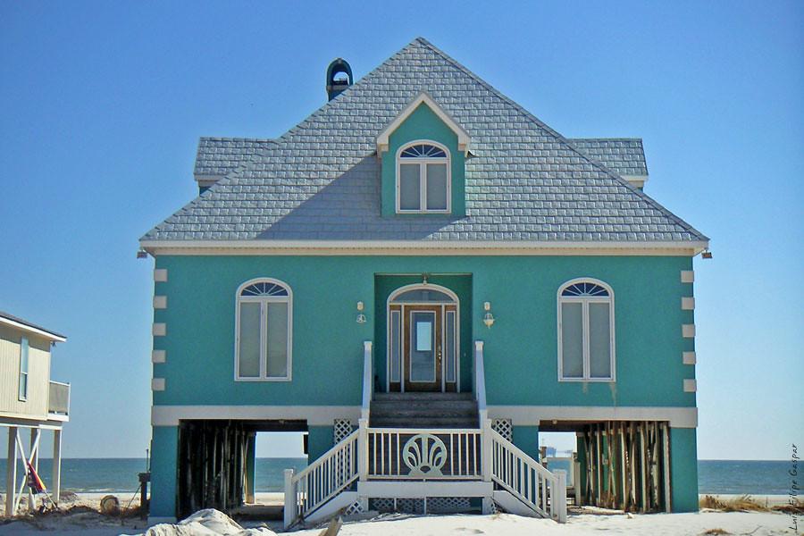 Beach house on the gulf shores al united states by luis filipe gaspar