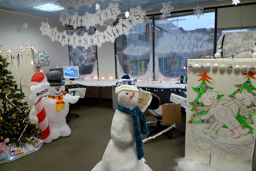 Decorating Office For Christmas Part - 47: ... Office Christmas Decorating Contest | By Ruth And Dave