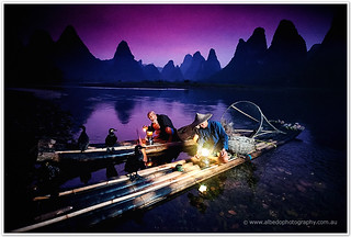 Cormorant fishermen of Xingping, near Yangshuo | by Richard [ Albedo Photography ]
