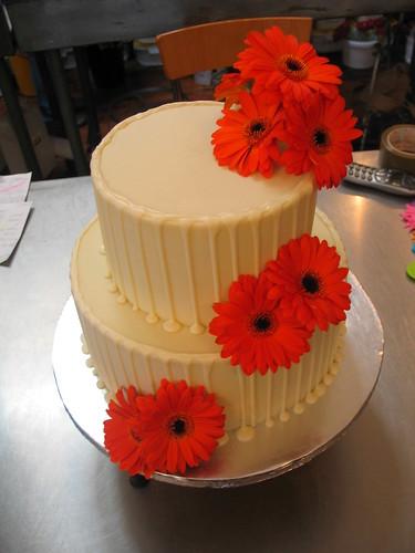 Iced Orange Drizzle Cake