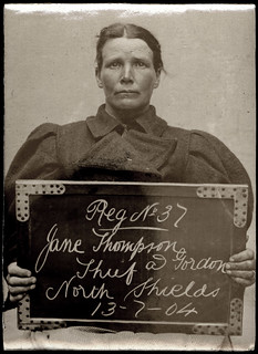 Jane Thompson alias Gordon, arrested for stealing a pair of boots | by Tyne & Wear Archives & Museums