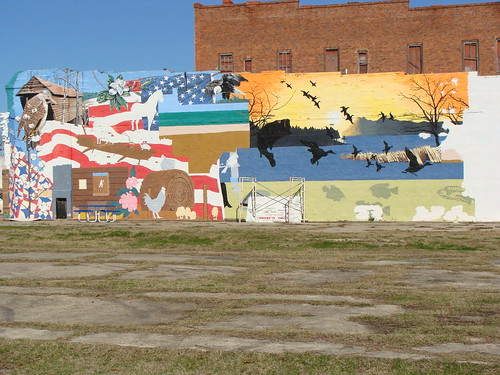 Wall mural unfinished union springs al union springs for Alabama wall mural