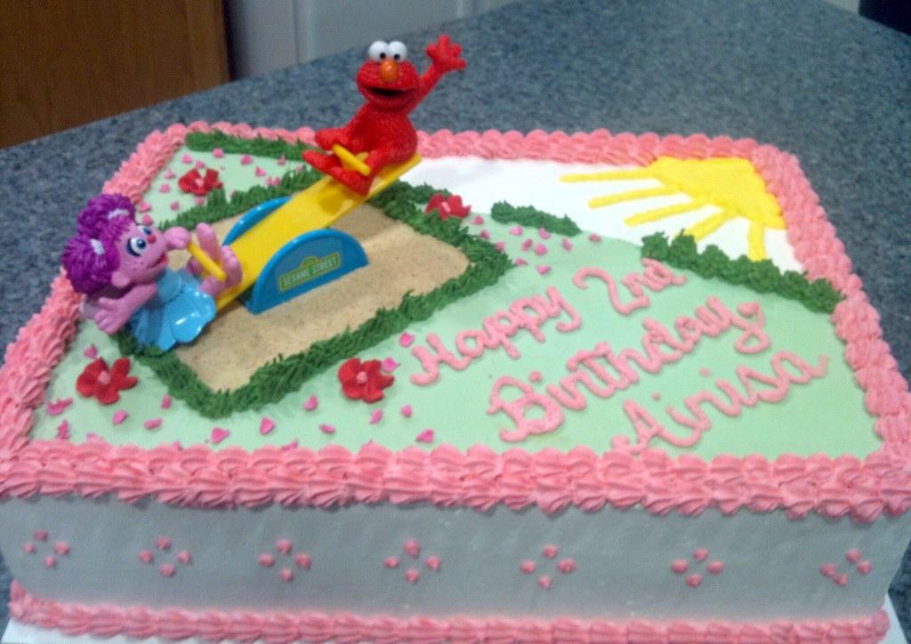SweetnessinSeattle Abby Elmo Cake
