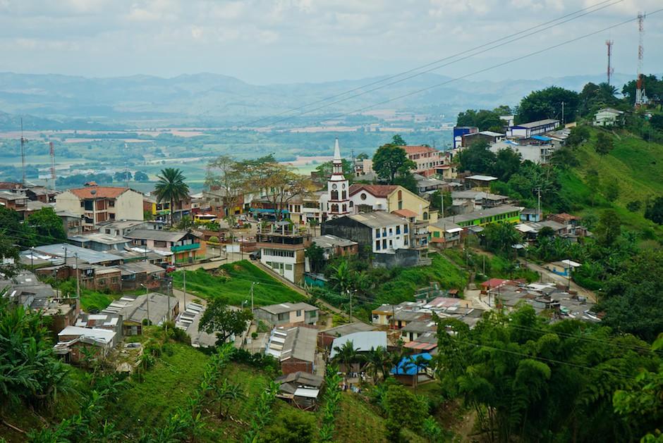 Iglesia de Buenavista desde lo alto
