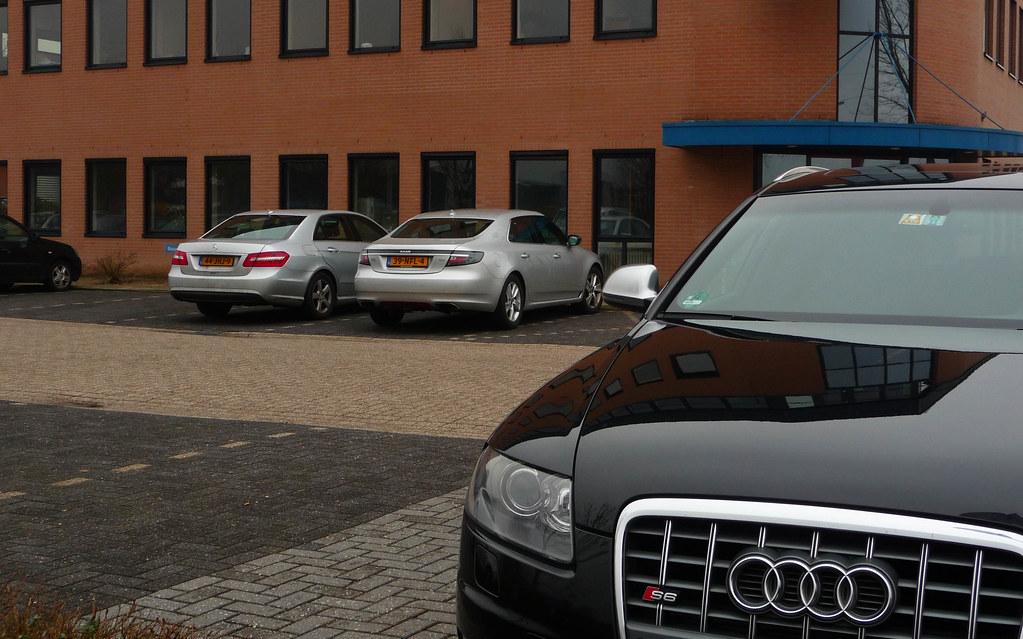 Audi S6 Avant vs. Saab 9-5 & Mercedes-Benz E-Kle   Flickr