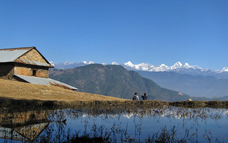 view of Langtangn Himalayan Region from Palchin | by chandrackd