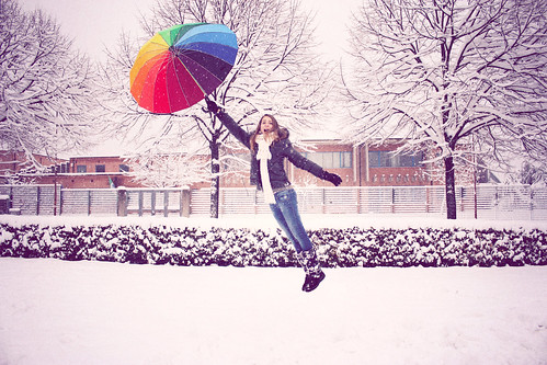 Levitation in the snow | by freen ▲