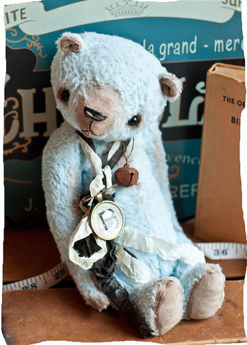 Blue Bear | by The Vintage Magpie