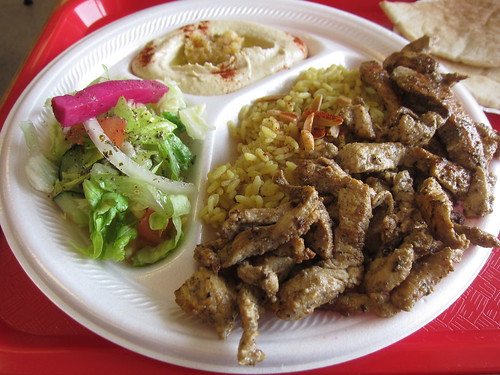 Chicken shawarma plate | by Texarchivist