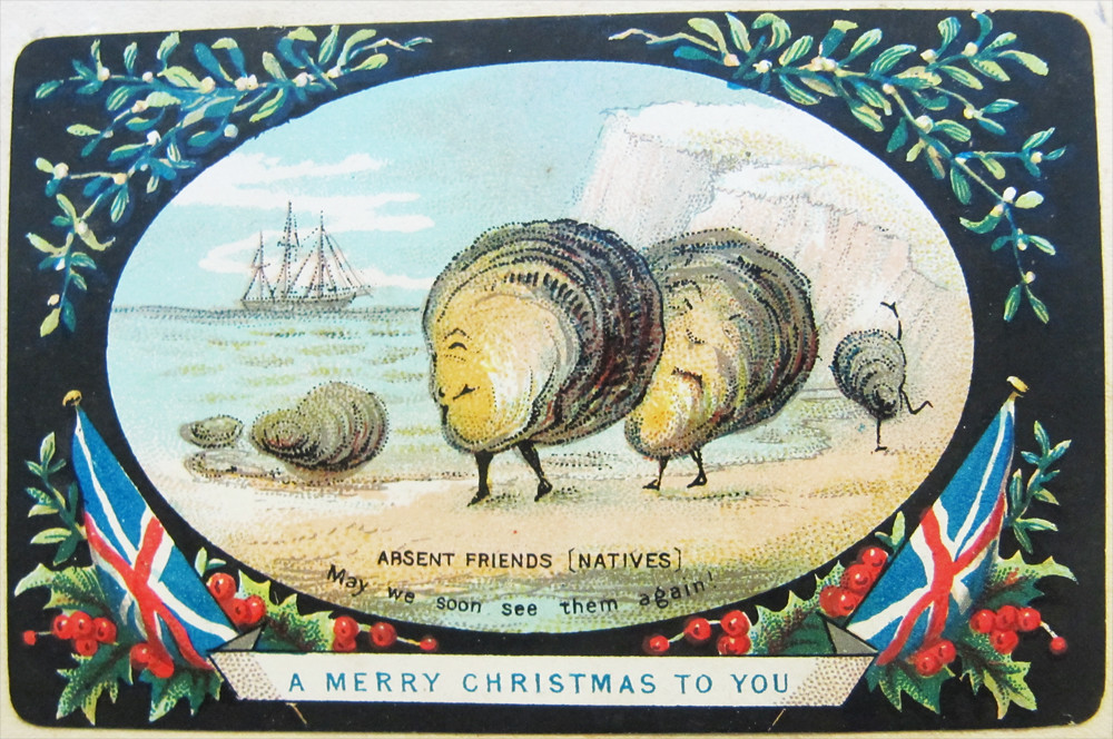 Day 7 | One of the more bizarre Christmas Cards in this Adve… | Flickr