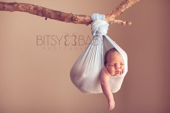 Baby as art newborn workshop stork pose by bitsy baby photography rita
