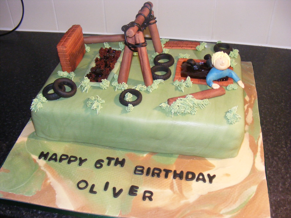 Assault Course Cake By My Pictures