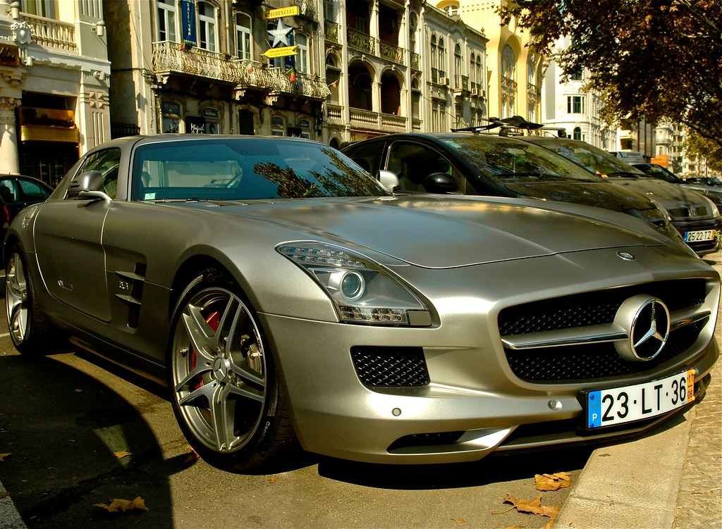Captivating ... Mercedes Benz SLS AMG | By Pedrosimoes7 Amazing Pictures