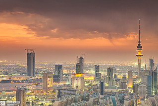 Kuwait - City Sunset [EXPLORE] | by Sarah Al-Sayegh Photography | www.salsayegh.com