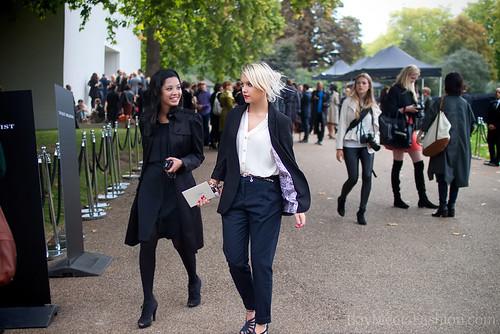 Burberry Show Fashion