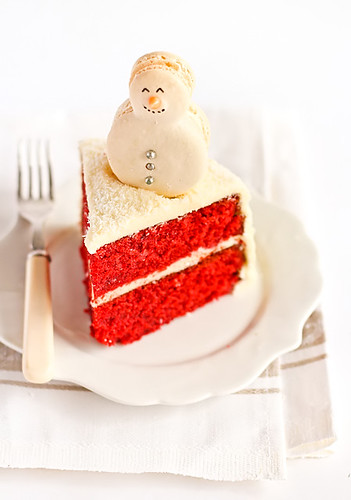 Red Velvet Cake Vallery Food Network With Out Frost Ing