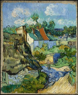 Vincent van Gogh - House at Auvers [c.1890] | by Gandalf's Gallery