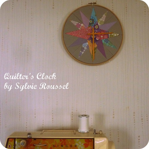 Quilter's Clock | by Fat Quarterly