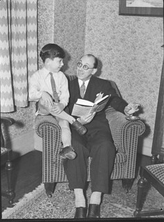 George Gee and son (taken for J.C. Williamson), 23 October 1937, by Sam Hood | by State Library of New South Wales collection